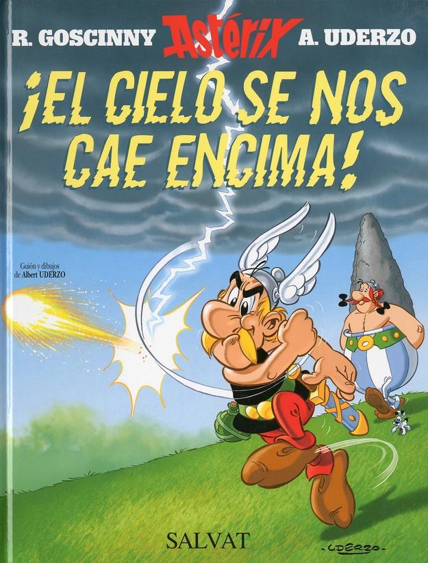 Astérix t.33 ; el cielo se nos cae encima!