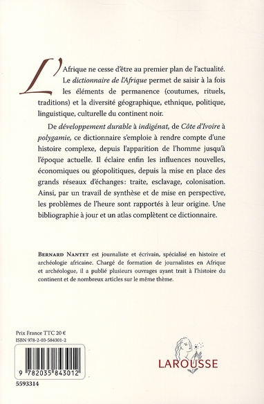 Dictionnaire de l'Afrique