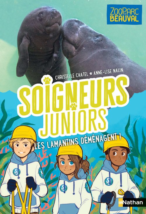 Vente EBooks : Soigneurs juniors - Les lamantins déménagent - tome 5 - Zoo Parc de Beauval - dès 8 ans  - Christelle Chatel