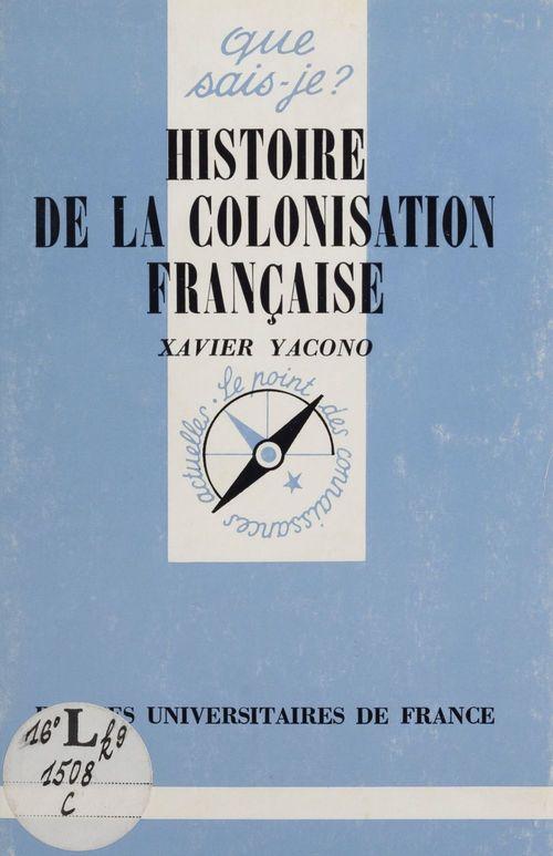 histoire de colonisation française