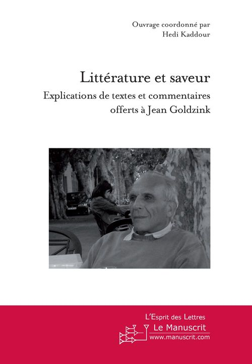 Littérature et saveur ; explications de textes et commentaires offerts à Jean Goldzink