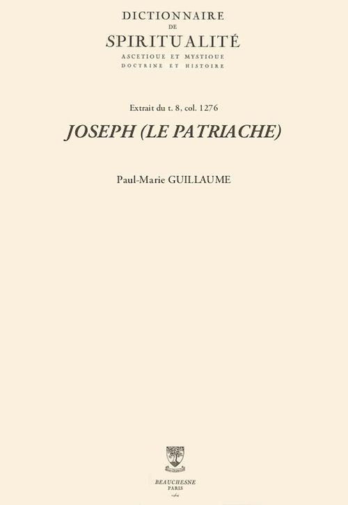 JOSEPH (LE PATRIACHE)