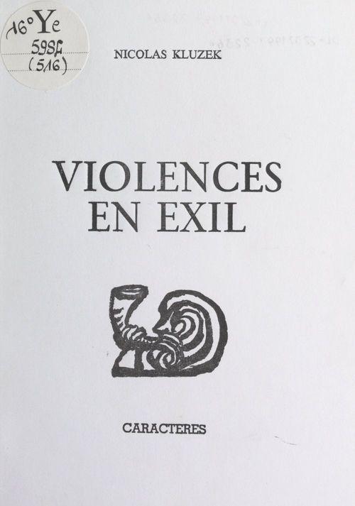 Violences en exil
