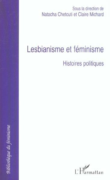 Lesbianisme et feminisme - histoires politiques