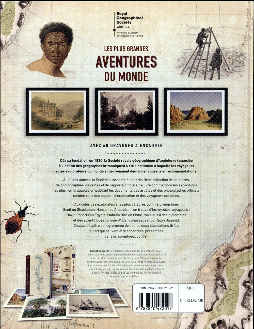 Coffret les plus grandes aventures du monde ; explorateurs et explorations