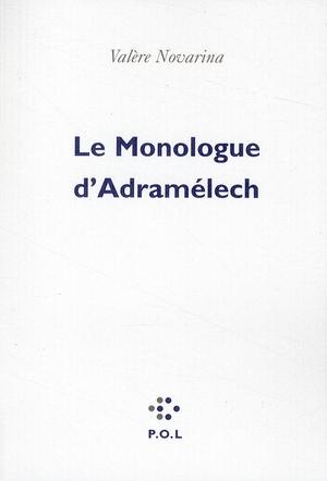 Le monologue d'Adramelech