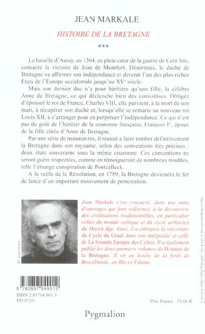 Histoire - t03 - histoire de la bretagne