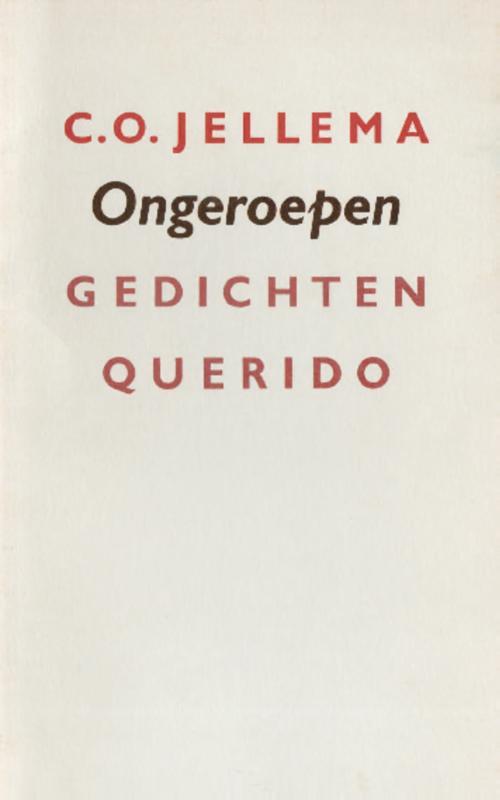 Ongeroepen - C.O. Jellema - ebook