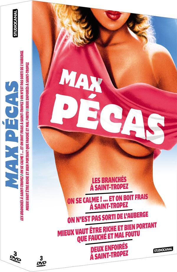 5 chefs-d'oeuvre de Max Pécas