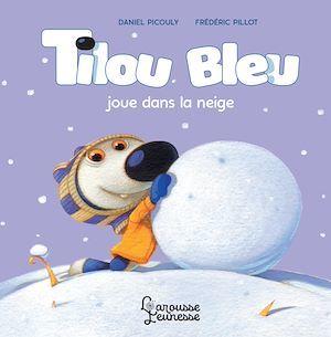 Tilou Bleu joue dans la neige