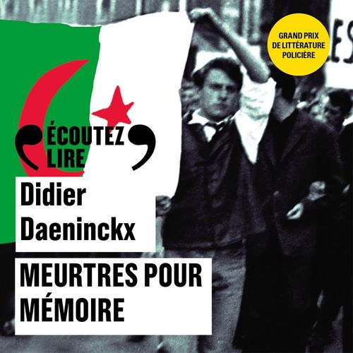 Vente AudioBook : Meurtres pour mémoire  - Didier Daeninckx