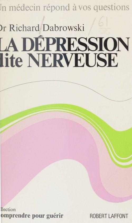 La dépression dite nerveuse