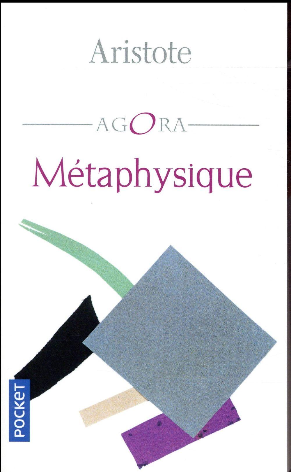METAPHYSIQUE Aristote
