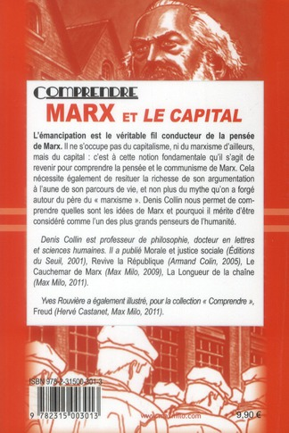 Comprendre Marx Guide Graphique Denis Collin Max Milo Grand Format Le Hall Du Livre Nancy