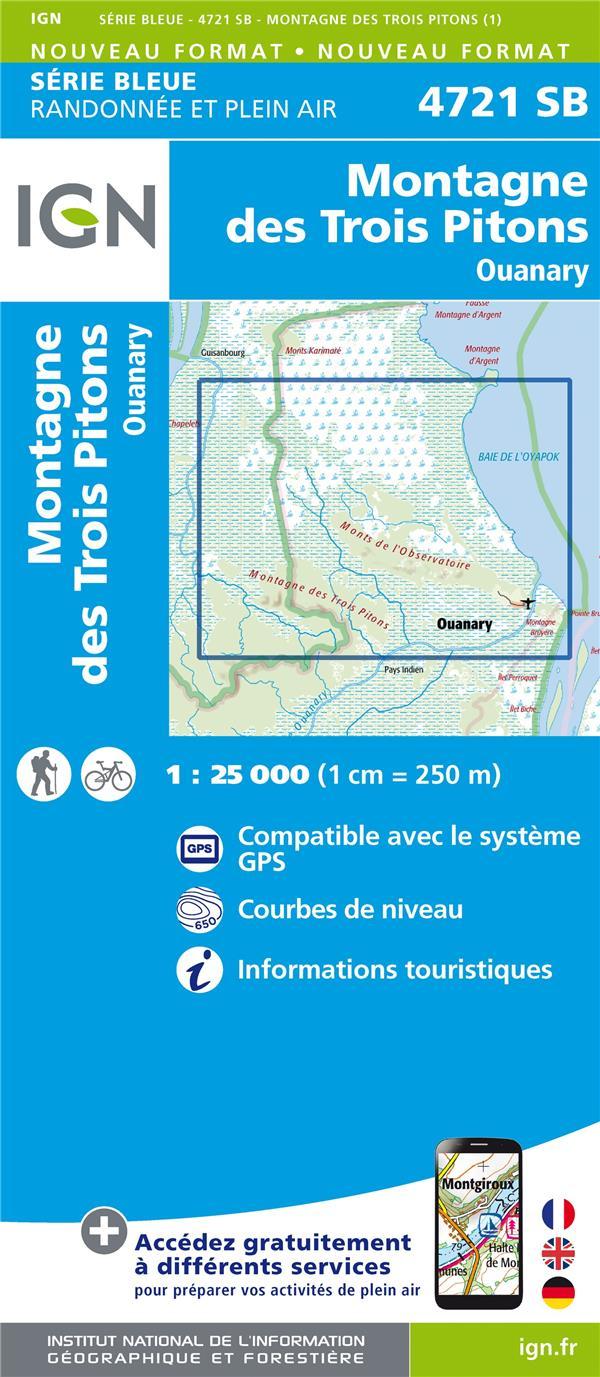 4721SB ; Montagne des Trois Pitons.Ouanary