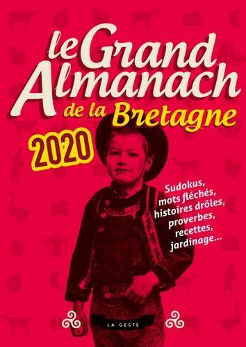 Le grand almanach de la Bretagne 2020