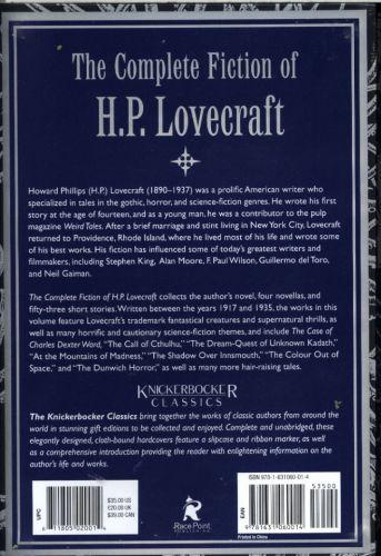 COMPLETE WORKS OF H.P. LOVECRAFT