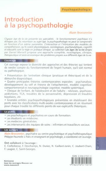 Introduction a la psychopathologie - pod