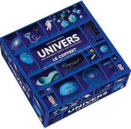 Univers ; des mondes grecs aux multivers ; le coffret