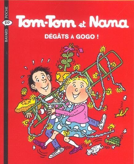 Tom-Tom Et Nana T.23 ; Degats A Gogo