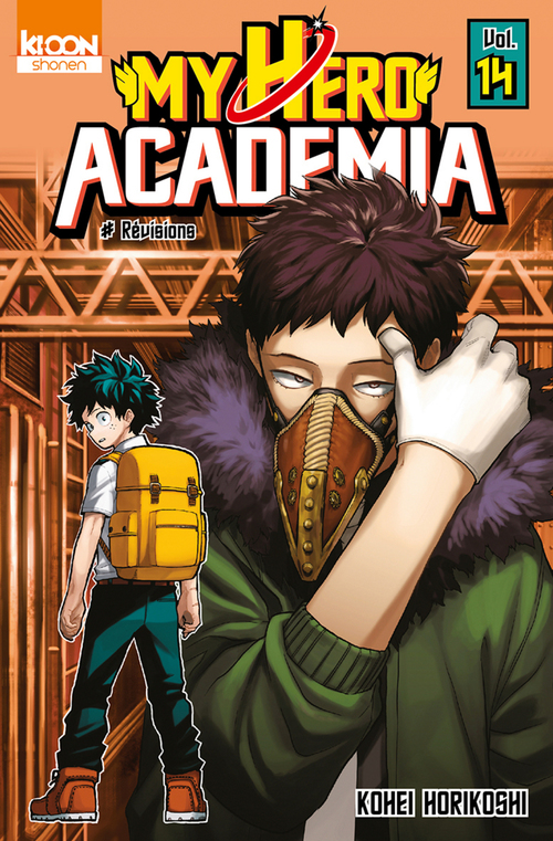 my hero Academia t.14 ; révisions