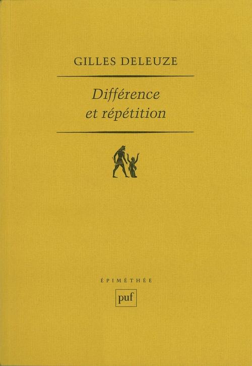 Différence et repétition (12e édition)
