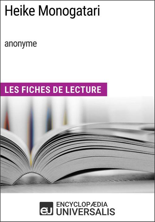 Heike Monogatari (anonyme)  - Encyclopædia Universalis  - Encyclopaedia Universalis