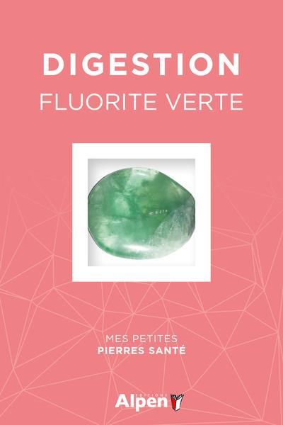 Coffret litho digestion ; fluorite verte