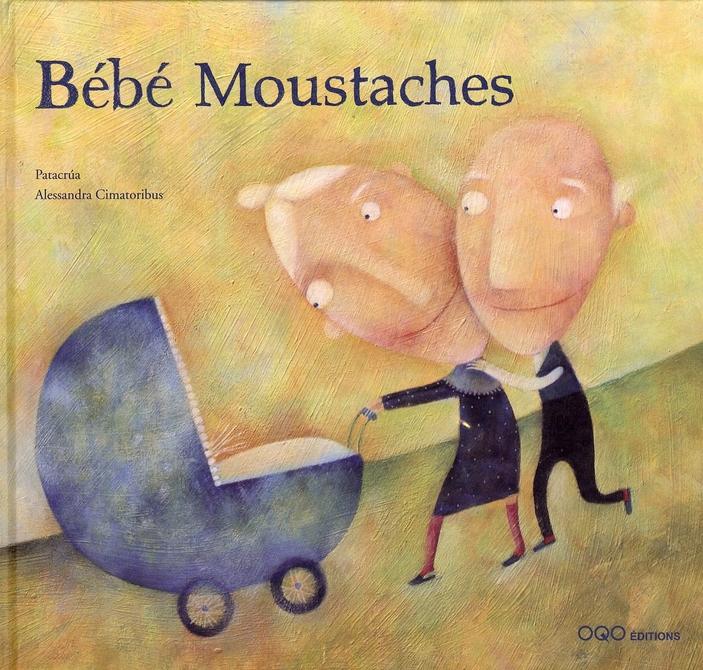 bébé moustaches