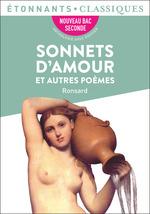 Vente EBooks : Sonnets d'amour et autres poèmes  - Pierre de Ronsard