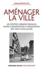 Vente EBooks : Aménager la ville  - Isabelle Backouche