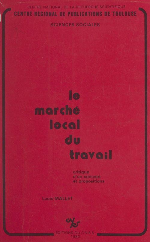 Le marché local du travail