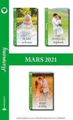 Vente EBooks : Pack mensuel Harmony : 3 romans (Mars 2021)  - Shirley Jump - Michelle Douglas - Ella Hayes