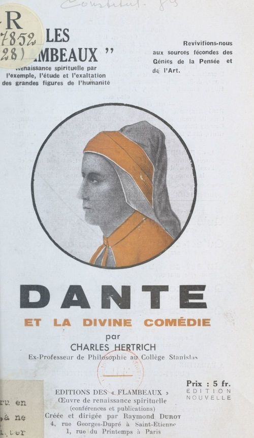 Dante et La divine comédie
