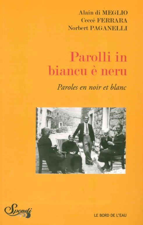 PAOLLI IN BIANCU E NERU / PARO
