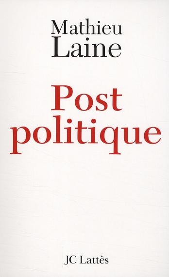 Post politique