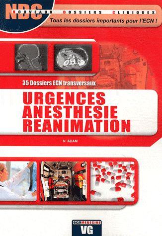 Ndc urgences anesthesie reanimation