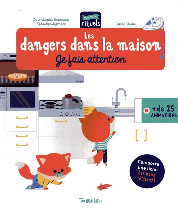 Les dangers dans la maison ; je fais attention