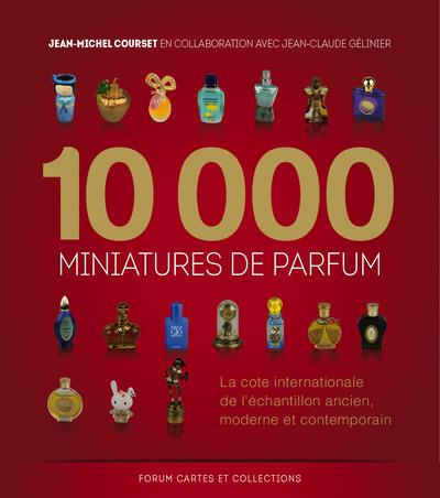10000 miniatures de parfum ; la côte internationale de l'échantillon ancien, moderne et contemporain