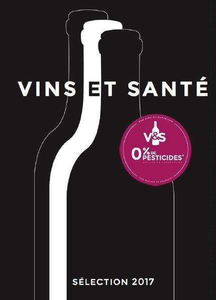 Guide  vins et santé 2017 ; 0% de pesticides