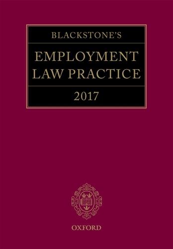Blackstone's Employment Law Practice 2017