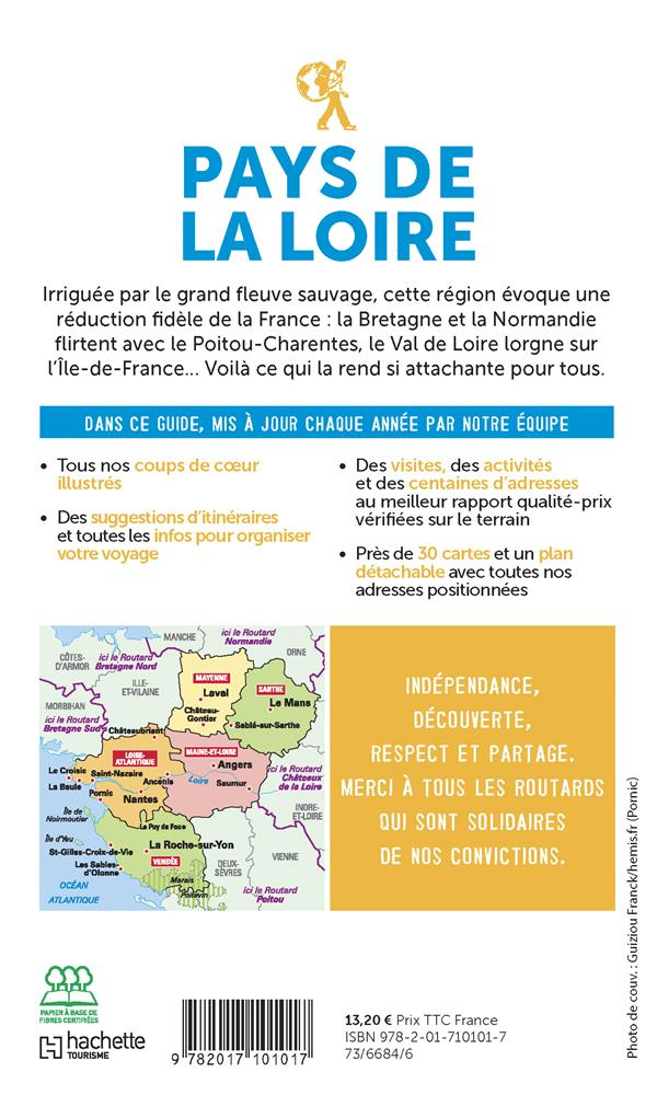 Guide du Routard ; Pays de la Loire (édition 2020/2021)