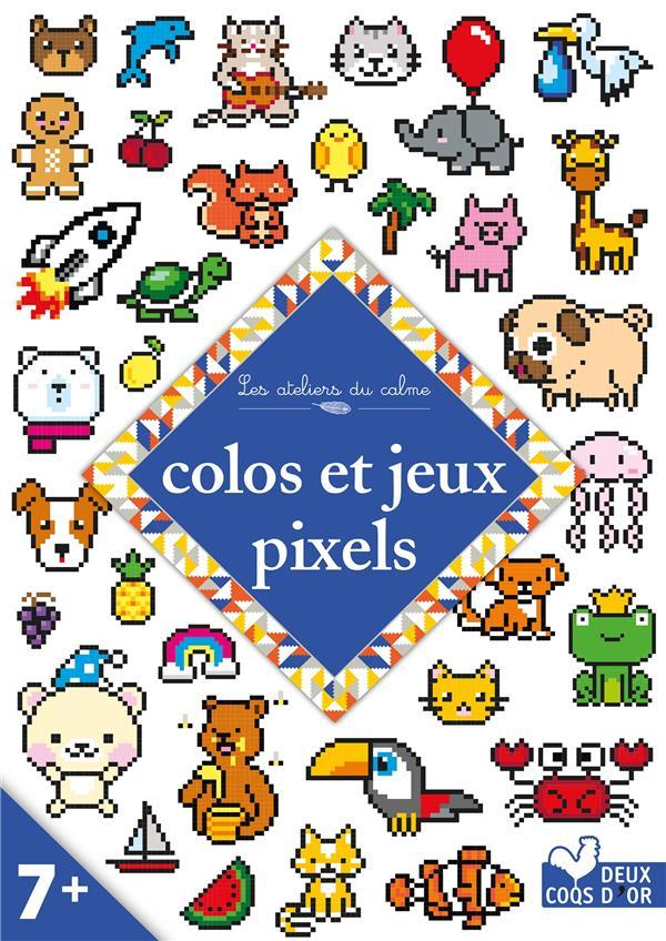 les ateliers du calme ; colos et jeux pixels