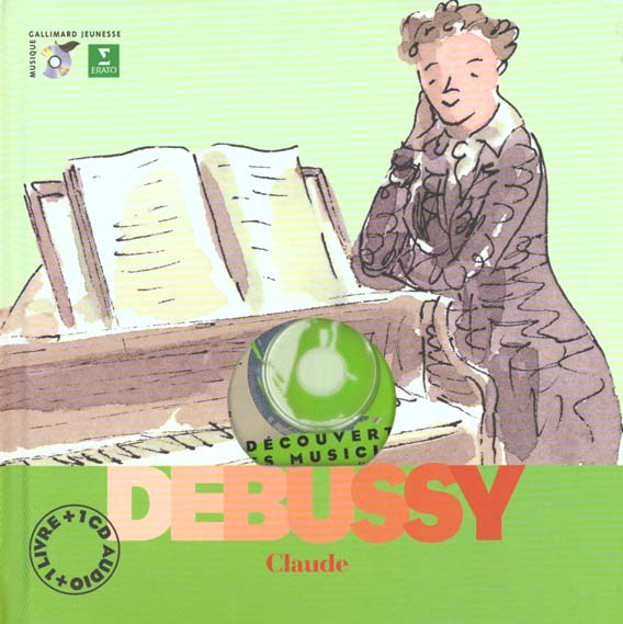 Claude Debussy  (Livr-Cd)