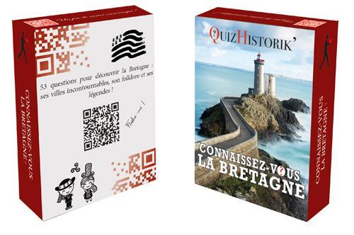 Jeu de cartes ; connaissez-vous la Bretagne ?