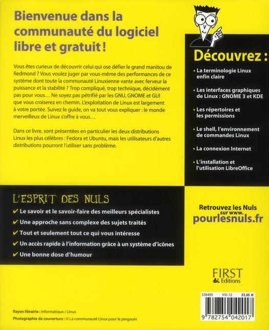 linux pour les nuls (10e édition)