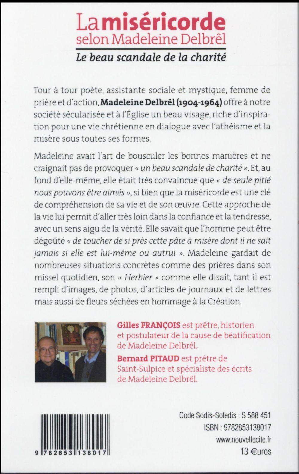 La miséricorde selon Madeleine Delbrel ; le scandale de la charité