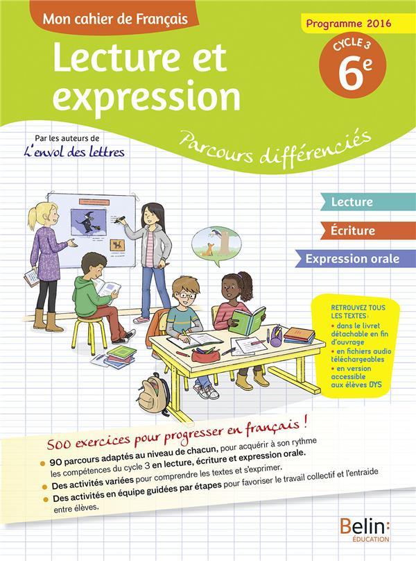 Cahier d'accompagnement personnalisé français 6e