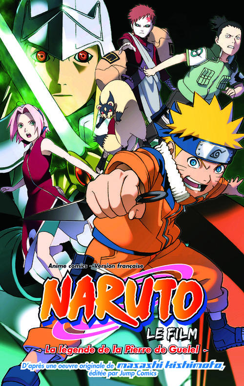 Naruto Shippuden T.2 ; la légende de la pierre de Guelel