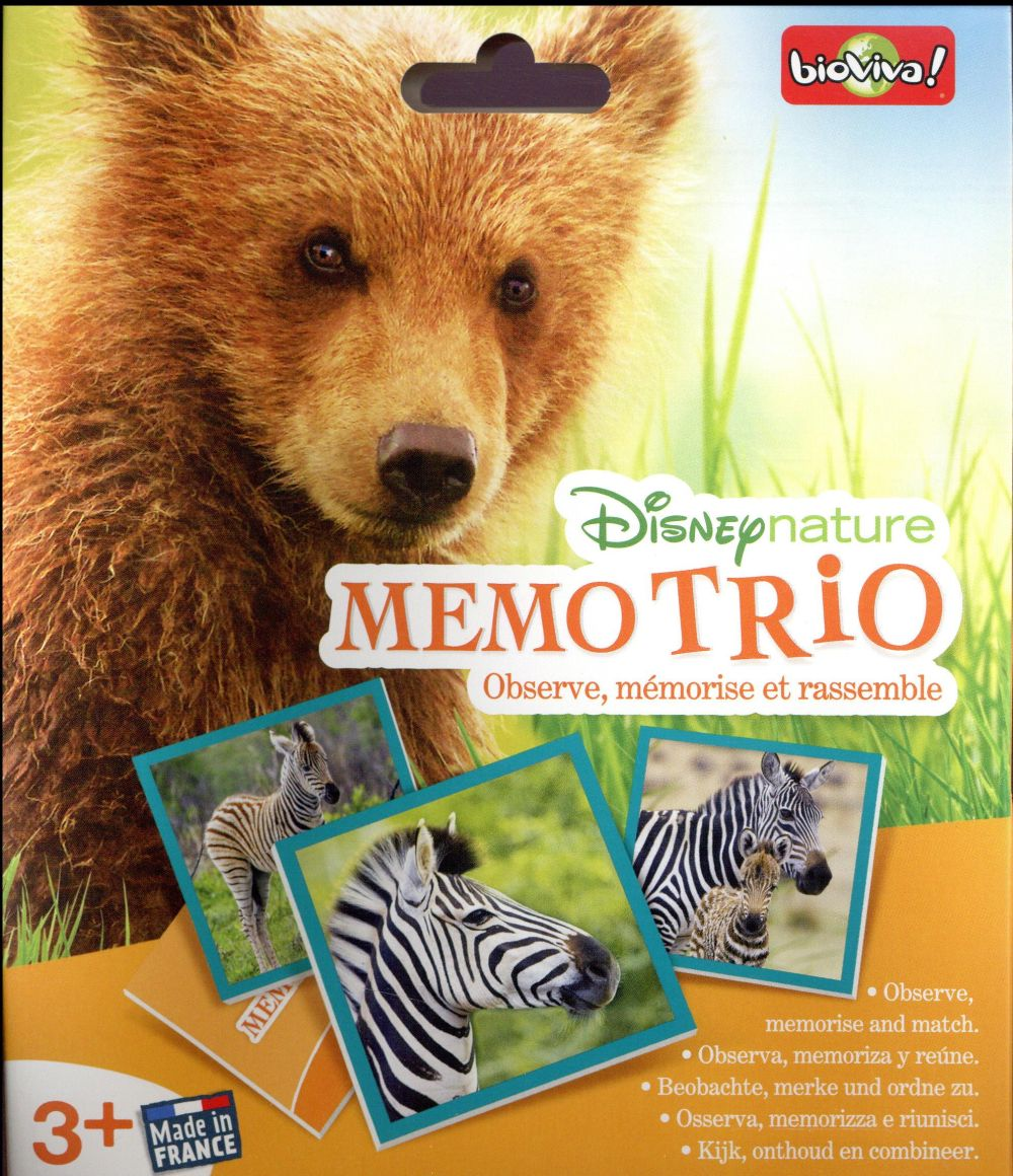 Disney nature ; mémo trio